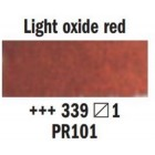 Akvareļu krāsa Rembrandt 5ml, 339- Light Oxide Red
