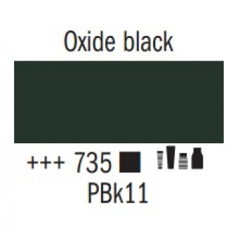 Acrylic ink 30ml 735 oxide black