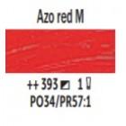 Eļļas krāsa Van Gogh azo sarkans vidējs 393; 200 ml