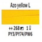 Eļļas krāsa Van Gogh azo dzeltens gaišs 268 ; 200 ml