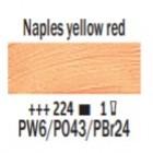 Eļļas krāsa Van Gogh neapoles sarkanīgi dzeltens 224 ; 200 ml
