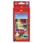 Akvareļu zīmuļi Faber Castell 12 krāsas