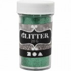 Gliteri 20 gr; zaļš