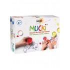 Pirksiņkrāsas Mucki, komplekts krāsu jaukšanai.