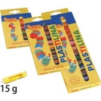 Plastilīna Jovi 6 krāsas x 15g